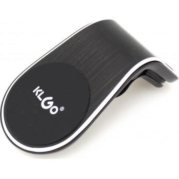 KLGO Z8 Magnetic Car Holder L-Shape Air Outlet Bracket - Black