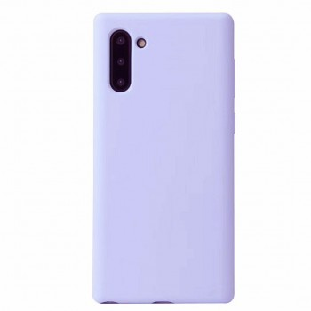 SILKY SOFT TPU BACK COVER FOR SAMSUNG NOTE 10 PLUS - LIGHT PURPLE