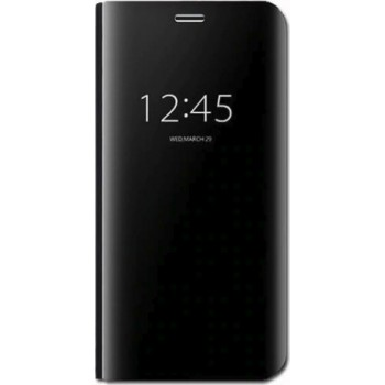 XIAOMI MI A2 LITE OEM ΘΗΚΗ MIRROR CLEAR VIEW -BLACK