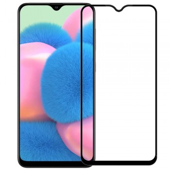 SAMSUNG GALAXY A20S Full Cover Protection Full Glue Black
