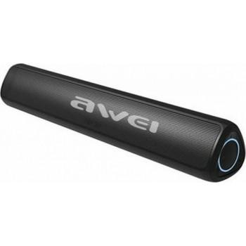 Awei Y333 Ηχείο Bluetooth 10W με Ραδιόφωνο και 3.5 ώρες Λειτουργίας Black