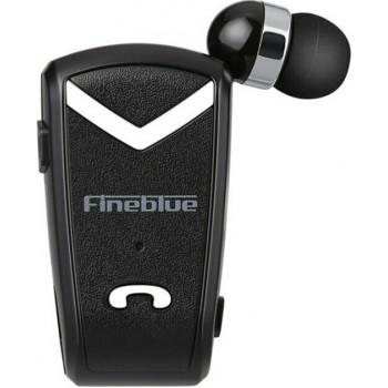 Ακουστικό Fineblue F-V2 Wireless Bluetooth Handsfree 2in1 Multipoint Connecting - Μαύρο
