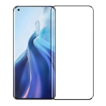 OEM Full Face & Full Glue Tempered Glass Screen Protector For Xiaomi MI 11 - Black