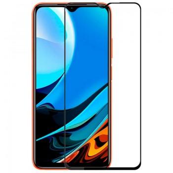OEM Full Face & Full Glue Tempered Glass Screen Protector For Xiaomi Redmi 9T - Black