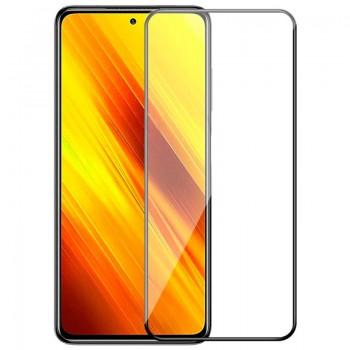 OEM Full Face & Full Glue Tempered Glass Screen Protector For Xiaomi Pocophone X3 - Black