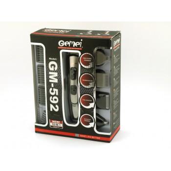 Gemei GM-592 Επαγγελματικό Σετ Κουρευτικής Μηχανής