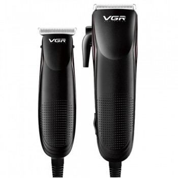 VGR V023 PROFESSIONAL HAIR CLIPPER AND TRIMMER COMBO KIT