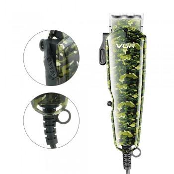 VGR V126 Professional Hair Clipper Electric Hair Trimmer Powerful Hair Shaving Machine Hair Cutting Beard Electric Razor