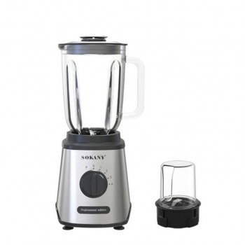 Sokany KF-9859 800W Electrical Commercial Fruits Ice Smoothie Juicer Hand Mixer Blender