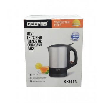 GEEPAS GK165N Cordless Kettle - 1.8 liters (UK Plug)