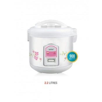 Sanford SF2506RC Rice Cooker, 900 Watts, 2.2 Litre - White