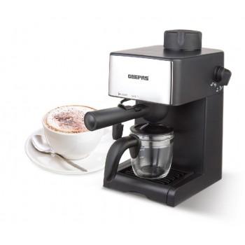 Geepas GCM6109 240ml Aluminum water tank Cappuccino Maker 800W (UK Plug)