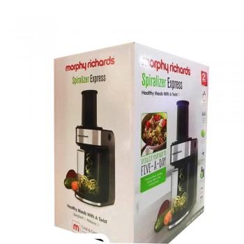 Morphy Richards 2 Blades Ηλεκτρικός Κόφτης Λαχανικών για Υγιεινές Μα&ka