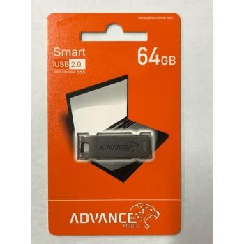 Usb 2.0 Advance Water Proof Flash Drive Professional Series Metal Frame - 64Gb