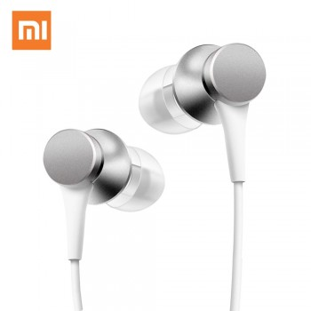 Handsfree Xiaomi Mi Basic Edition Piston - Ασήμι