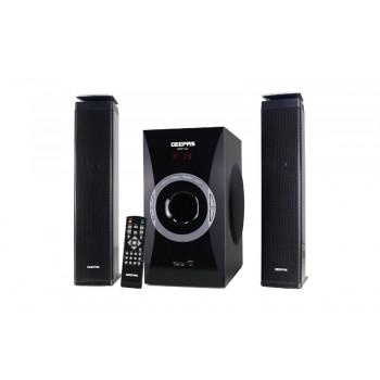 GEEPAS GMS7494R 2.1CH MULTIMEDIA SPEAKER SYSTEM - BLACK (UK Plug)