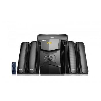 GEEPAS GMS8578 Ηχοσύστημα 5.1 Channel Multimedia Speaker Μαύρο (UK Plug)