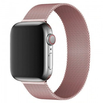 OEM SMART BRACELET STAINLESS STEEL MAGNETIC FOR APPLE WATCHES 42MM/44MM - ROSE GOLD