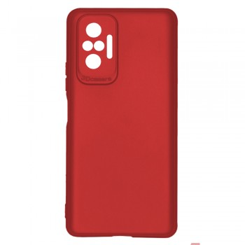 OEM θήκη Πλάτης με 3D CAMERA Για XIAOMI REDMI NOTE 10 PRO  - κόκκινο