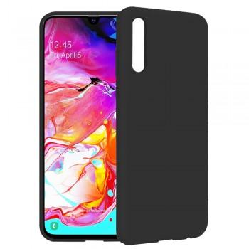 θήκη Πλάτης με Διάφορα Χρώματα Για Samsung Galaxy A20S - Μαύρο