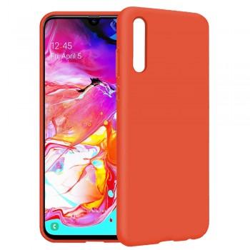 θήκη Πλάτης με Διάφορα Χρώματα Για Samsung Galaxy A20S - Πορτοκάλι