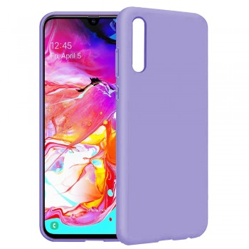 θήκη Πλάτης με Διάφορα Χρώματα Για Samsung Galaxy A20S - Μωβ