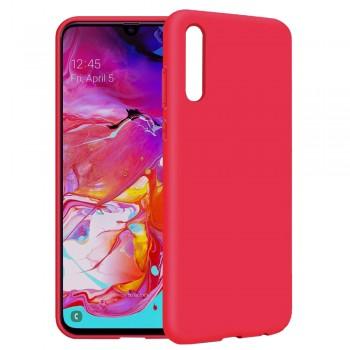 θήκη Πλάτης με Διάφορα Χρώματα Για Samsung Galaxy A20S - κόκκινο