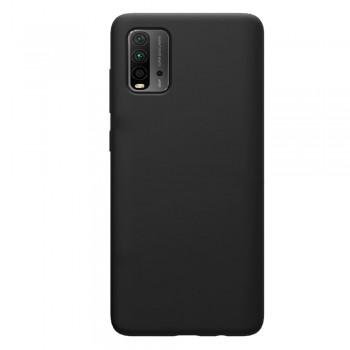 θήκη Πλάτης με Διάφορα Χρώματα Για Xiaomi Pocophone M3 - Μαύρο