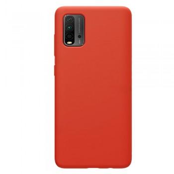 θήκη Πλάτης με Διάφορα Χρώματα Για Xiaomi Pocophone M3 - Πορτοκάλι