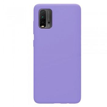 θήκη Πλάτης με Διάφορα Χρώματα Για Xiaomi Pocophone M3 - Μωβ