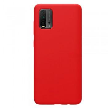 θήκη Πλάτης με Διάφορα Χρώματα Για Xiaomi Pocophone M3 - κόκκινο