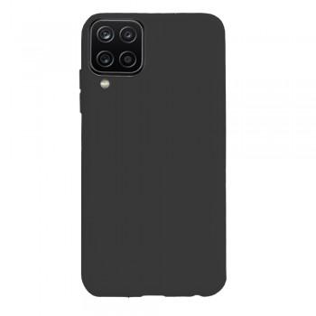 θήκη Πλάτης με Διάφορα Χρώματα Για Samsung Galaxy A12 - Μαύρο