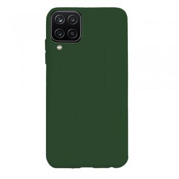 θήκη Πλάτης με Διάφορα Χρώματα Για Samsung Galaxy A12 - Πράσινος