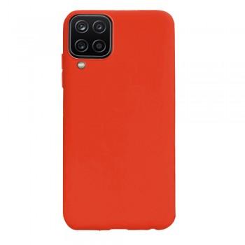 θήκη Πλάτης με Διάφορα Χρώματα Για Samsung Galaxy A12 - Πορτοκάλι