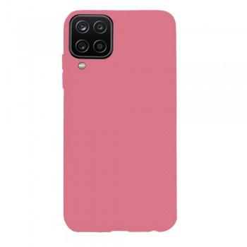 θήκη Πλάτης με Διάφορα Χρώματα Για Samsung Galaxy A12 - Ροζ