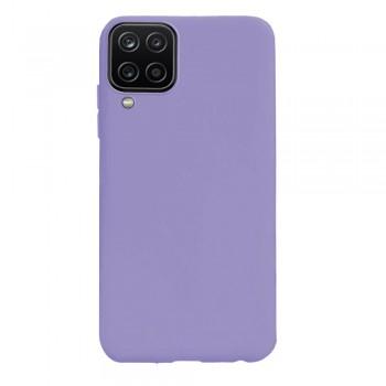 θήκη Πλάτης με Διάφορα Χρώματα Για Samsung Galaxy A12 - Μωβ
