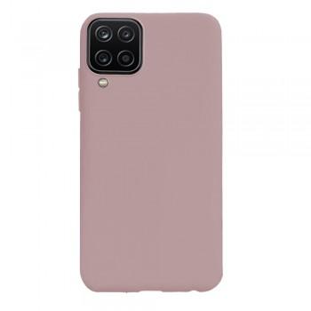 θήκη Πλάτης με Διάφορα Χρώματα Για Samsung Galaxy A12 - Ροζ χρυσό